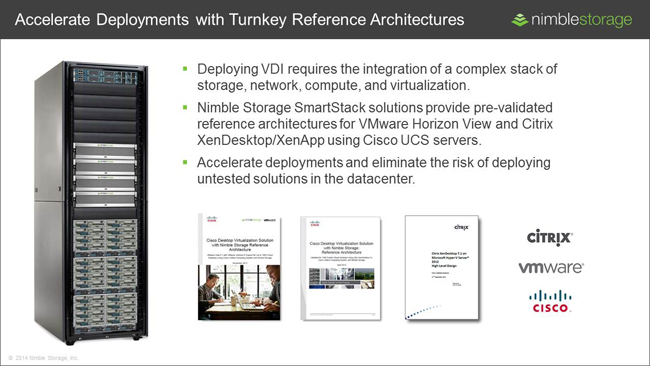 Accelerate VDI deployments with turnkey solutions